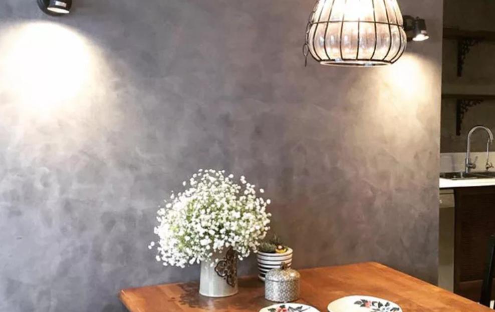 Dùng sơn tường bê tông để tạo nên không gian sống hoàn mỹ